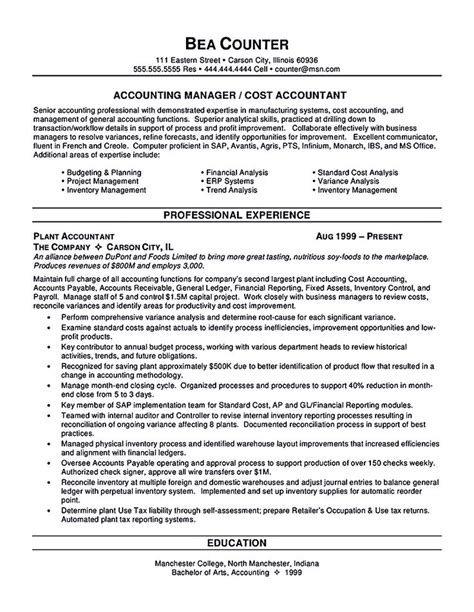 Assistant Cost Controller Resume by Accounts Payable Resume Template Accountant Resume Template Here Helps You In Boosting Your
