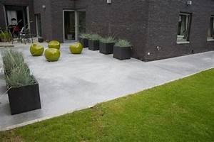 Beton Fliesen Terrasse : b ton poli terrasses pinterest ~ Michelbontemps.com Haus und Dekorationen