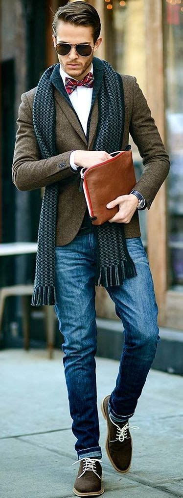 Outfittrends u2014 How to Wear Brown Shoes-16Men Outfits with Brown...