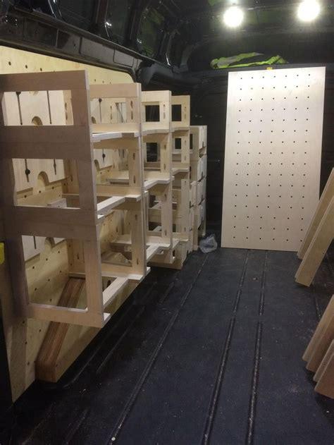 van workshop van racking   van storage