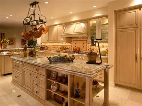 cottage kitchen  cream cabinetry hgtv