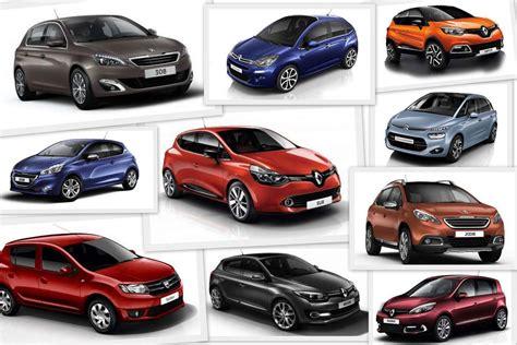 modele de voiture renault ventes de voitures le top 100 des modeles 2014