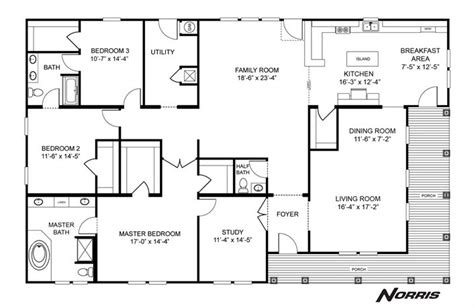Clayton Homes Norris Floor Plans norris c series home plan 27nsc45723a i want to remember