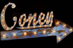 marquee letter lighted metal marquee sign marquee light With metal letter signs with lights