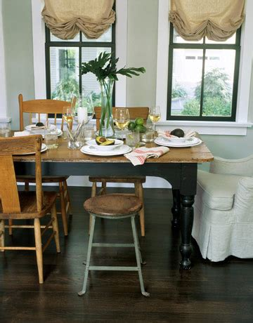 gray dining room rustic details mismatched chairs in oh