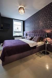 Dark Purple Wallpaper For Bedrooms | www.pixshark.com ...