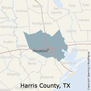 places    harris county texas