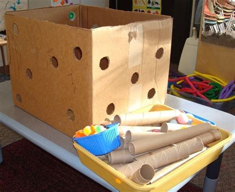 initialen kinder box with holes from patti s nursery school class