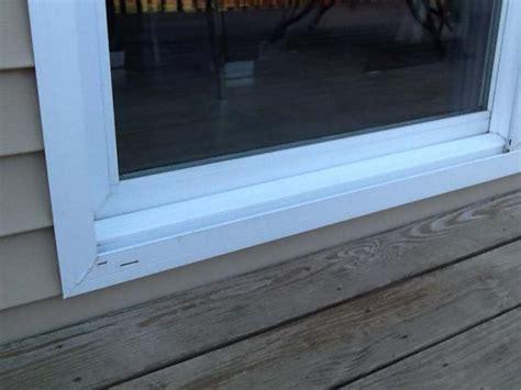 best corner window leaking sliding glass door doityourself com community forums