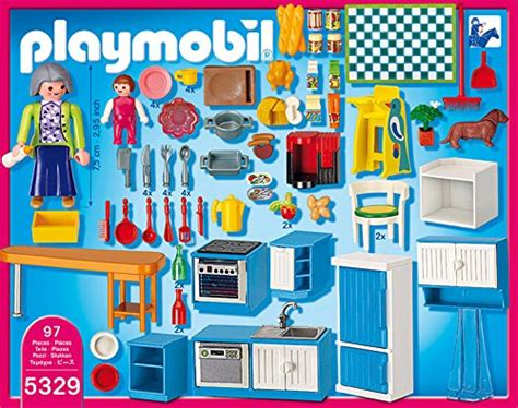 cuisine playmobil 5329 5329 cuisine de playmobil