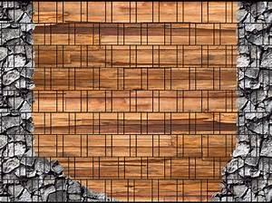 Doppelstabmattenzaun Sichtschutz Motiv : holz bruchstein doppelstabmatten sichtschutzstreifen ~ A.2002-acura-tl-radio.info Haus und Dekorationen