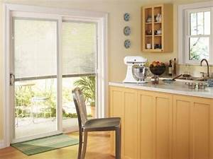 window treatments for sliding glass doors in kitchen photo With kitchen curtain ideas sliding glass door