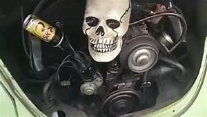 Vw Beetle Snapping Skull In The Engine Compartment Vw