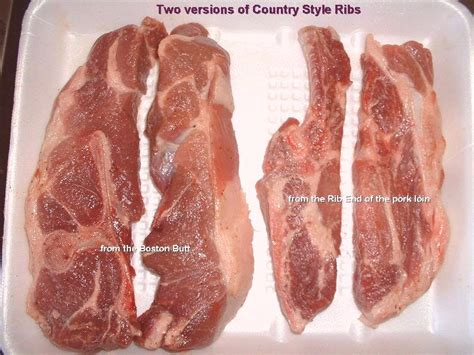 "Clarification Of ""country Style Ribs""  Discuss Cooking"