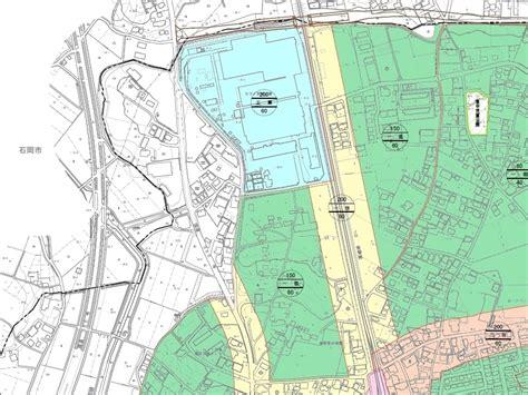 都市 計画 図