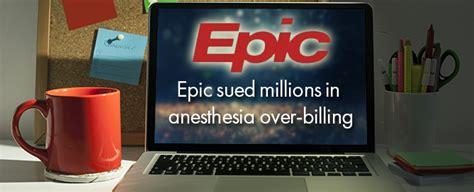 epic sued millions  anesthesia  billing ehrnews