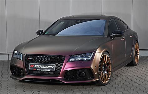 Audi a7 rs7 quattro 76mm ( 3 zoll ) high speed edelstahl downpipe neu. Insane PP-Performance Audi RS7 Packs 745 hp!