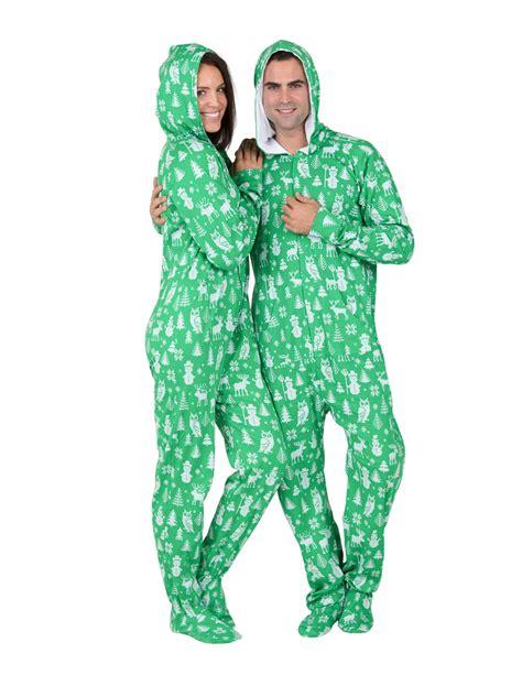 cotton pajamas size 3 nordic hoodie cotton footed pajamas