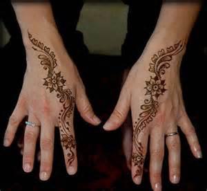30 Easy & Simple Mehndi Designs & Henna Patterns 2012 ...