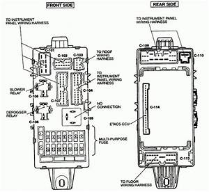 2003 Mitsubishi Eclipse Fuse Location