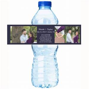 diy wedding water bottle labels home design mannahattaus With diy personalized water bottle labels
