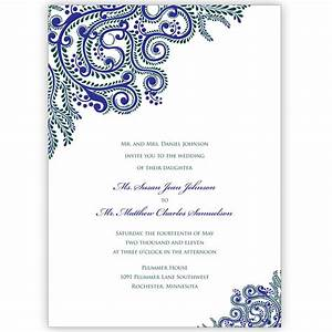 printable wedding invitations indian wedding invitations With wedding invitations self print