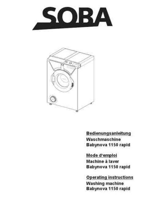 anschluss für waschmaschine eumenia babynova 1150 rapidwaschmaschinen deutsche