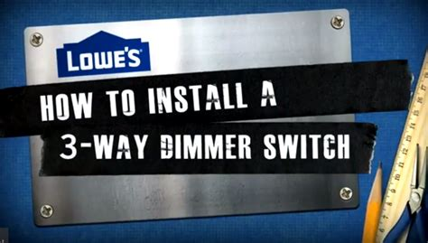 how to install a light switch with 3 wires how to install a 3 way dimmer switch