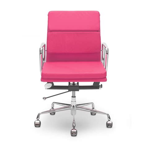 pink back style executive office chair cult uk