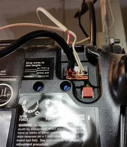 Installation With Chamberlain Liftmaster Professional - Wiring Openers