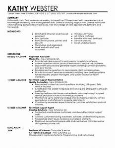 best help desk resume example livecareer With job resume help