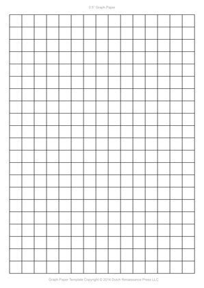 graph paper template     mm
