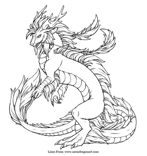 imperial dragon coloring page dragon coloring page