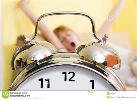 morning routine royalty  stock photography image
