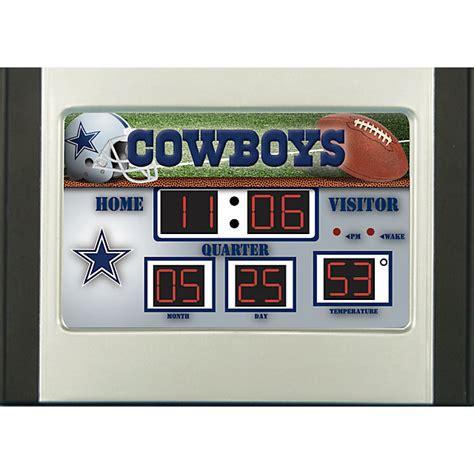 dallas cowboys desk accessories dallas cowboys scoreboard desk clock office home