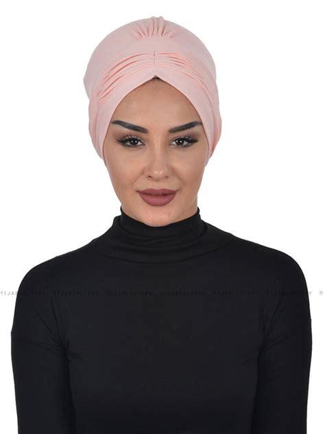 tulband oudroze linda katoenen hijab van ayse turban