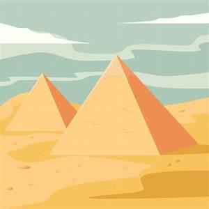 Pyramids Vector Illustration