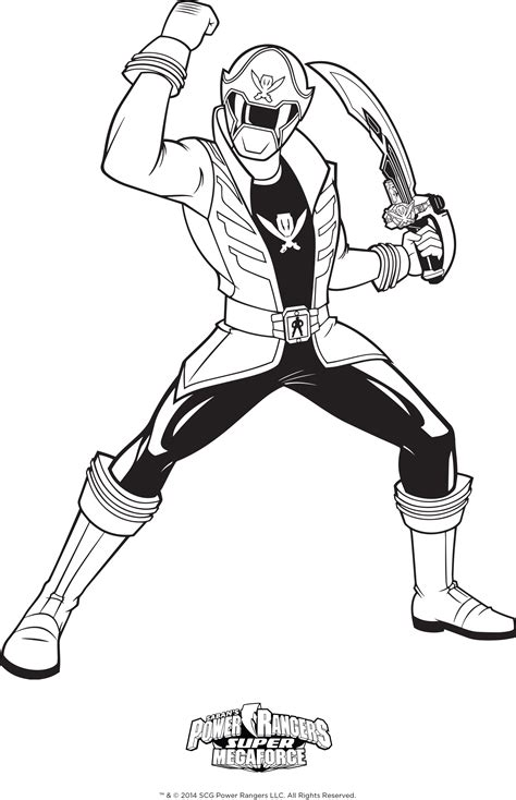 power ranger coloring pages bestofcoloringcom