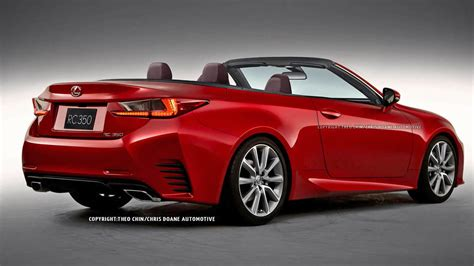 lexus convertible 2015 2015 lexus rc convertible first looks