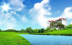 dream home wallpaper Photo