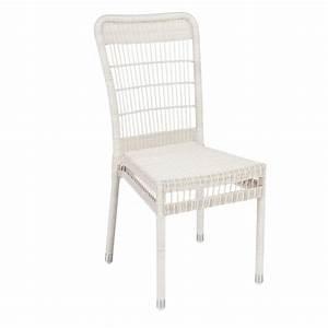 Coussins Chaises De Jardin : chaise de jardin en r sine tress e biarritz sans coussin ~ Dode.kayakingforconservation.com Idées de Décoration