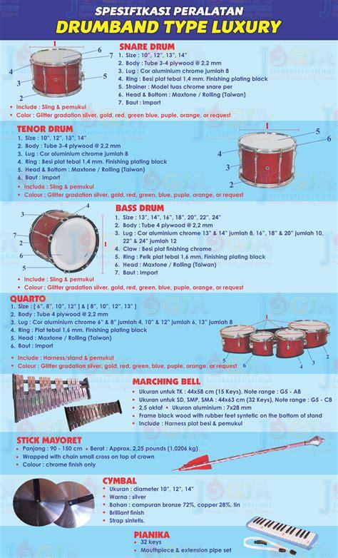 Jual drumband sd, murah, berkualitas, dan bergaransi. Gambar Perlengkapan Peralatan dan Spesifikasi Alat Musik Drum Band   JOGJA DRUMBAND MARCHING BAND