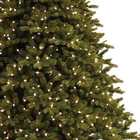 7 5 ft christmas tree with 1000 lights ge 7 5 ft just cut norway spruce ez light artificial