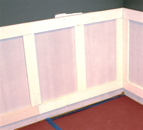 how to wainscot how to install wainscoting pro construction guide
