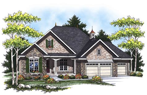 country french ranch home plan ah architectural designs house plans