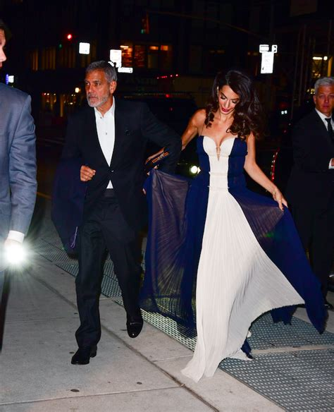 Find out how the couple plans to make their kids' birthdays special. Amal Clooney Wore My Ideal Skinny Pants-and-Boots Outfit | Amal clooney, Red carpet party dress ...