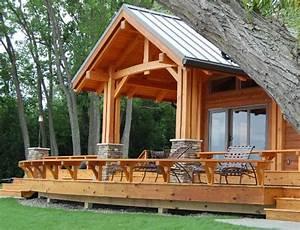Cottage Remodel Timber Frame Case Study