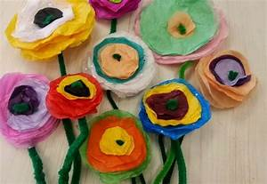 tissue paper art for kids ~ ideas arts and crafts projects