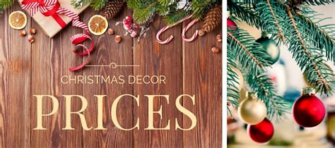 christmas tree prices your holiday decor guide