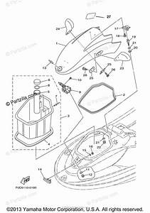 Yamaha Waverunner 2000 Oem Parts Diagram For Engine Hatch